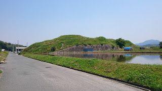 寛弘寺古墳公園(南河内郡河南町) ・自由に入れ景色も楽しめる古墳公園