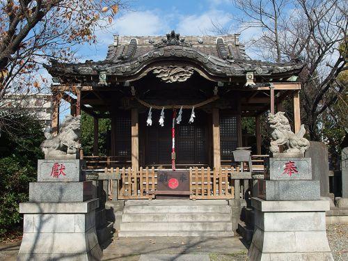 中島八幡神社(川崎市) - 八幡太郎義家の功績を讃えて創建されたと伝わる神社