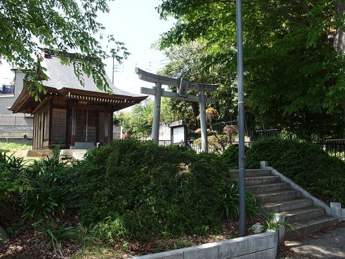 茨山稲荷神社 - 江戸時代に、養蚕の成就を願って祀られたお稲荷さま