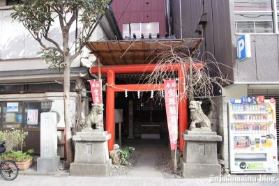 宝珠稲荷神社(中央区銀座)