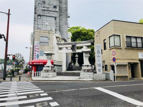 佐世保の厄除け神社はパワースポット!亀山八幡宮(長崎県)の御朱印 - 旅がすき ♪nehe nehe