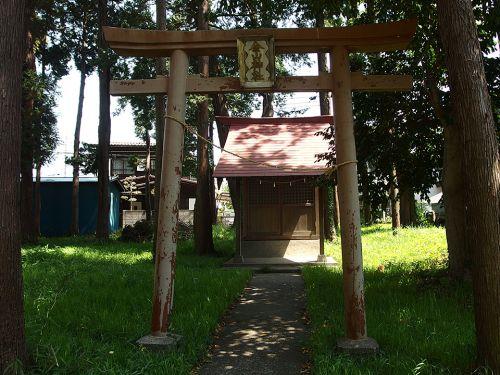 西田金山神社 - かつて「摩利支天」を祀っていた小祠