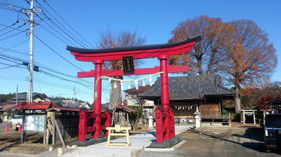 石井神社(茨城県笠間市)
