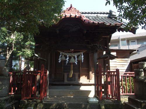 諏訪神社(川崎市高津区諏訪) - 諏訪神社上社の大祝を務めていた諏訪氏の末裔が創建した由緒正しい諏訪社