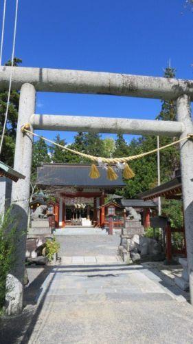 福島県田村市 大鏑矢神社