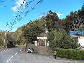 熊野神社 その1(千葉県勝浦市大森)