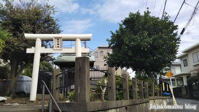 馬込諏訪神社(大田区東馬込)