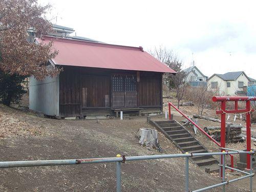 妙法稲荷神社(大和市深見) - 旧深見村坊之窪地区に祀られていたお稲荷さま