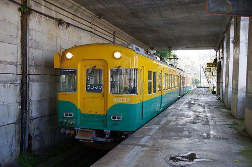 富山地方鉄道 上滝線 大川寺駅