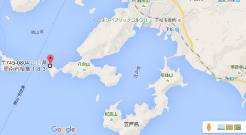 粭(すくも)島 貴船神社 周南市