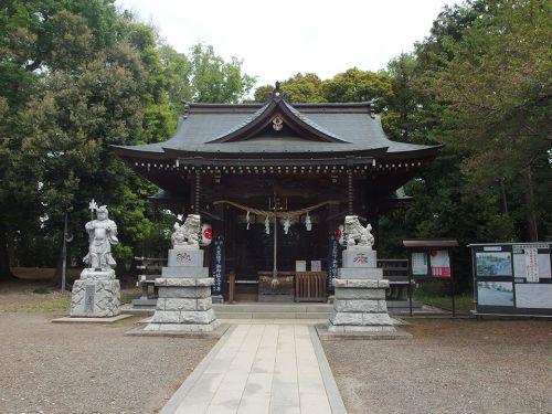 野川神明社 - 「韋駄天」を祀る、全国的にも珍しい神社