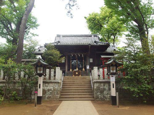 千束八幡神社 - 洗足池の辺りに鎮座する「旗挙げ八幡」