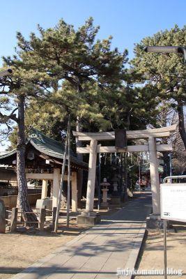 柴又八幡神社(葛飾区柴又)