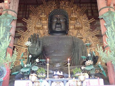 東大寺 大仏殿、奈良の大仏 阿吽像など 世界遺産