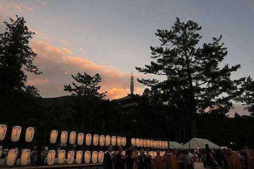 世界遺産醍醐寺の万灯会