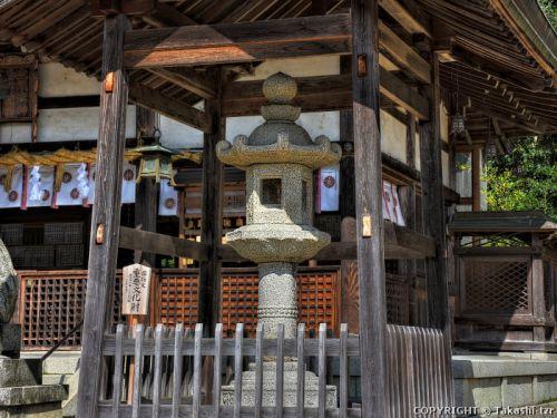 大宮売神社の石燈籠 (京都)