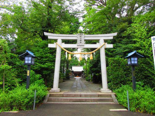 【神奈川】三本杉の御神紋が可愛らしい♪「星川杉山神社」の御朱印