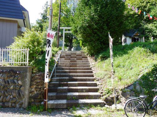 【御朱印なし】札幌市中央区双子山 界川神社 - 藻岩颪に豊河の流れ。