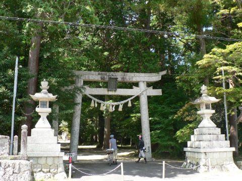 【丹波】輪行ポタ<5>伊尼神社(新郷)