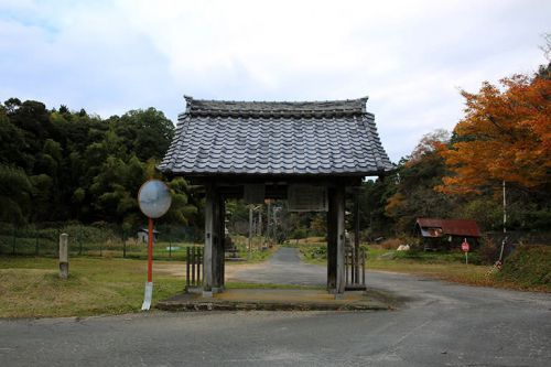 縁城寺、「橋木の観音さん」と親しまれています。