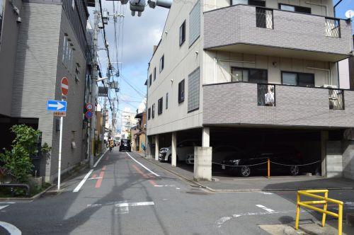 まち歩き下1238 京の通り 麩屋町通 NO17 仏光寺通り