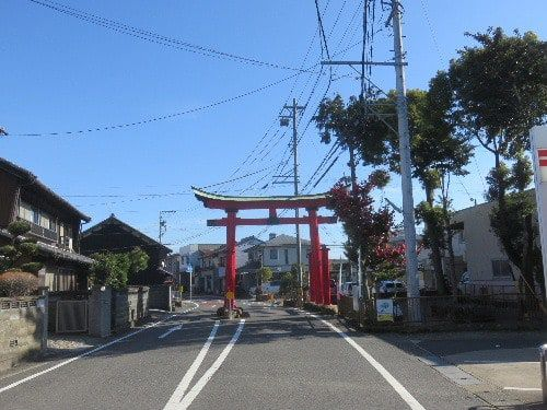 手力雄神社(2020年1月11日参拝)