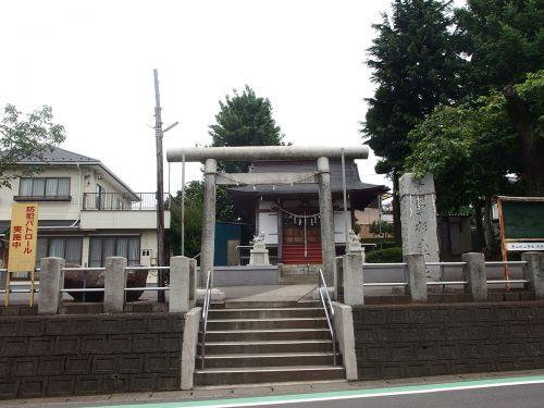 寺山町杉山神社 - 旧寺山村の鎮守だったと思われる杉山社