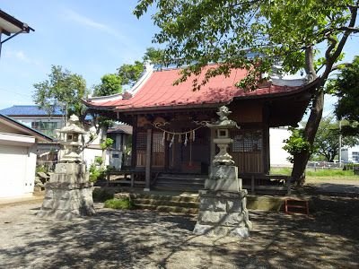 「八幡神社」(伊勢原市下落合)