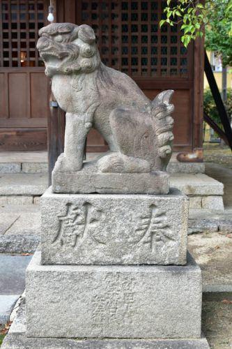 神田天満宮の狛犬達