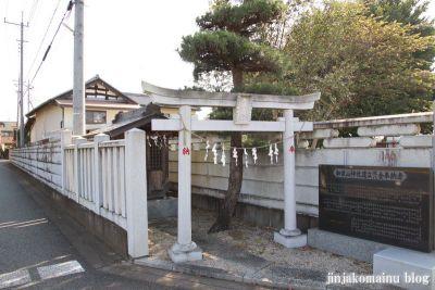 加波山神社 古河市上辺見651