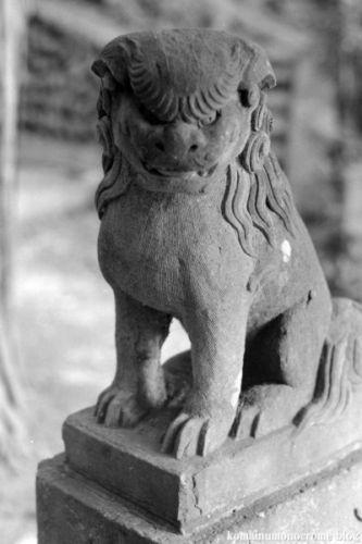 狛犬たちのモノローグ  File957  塩船神明社