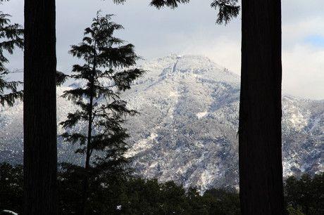雪の京都 圓通寺・借景庭園