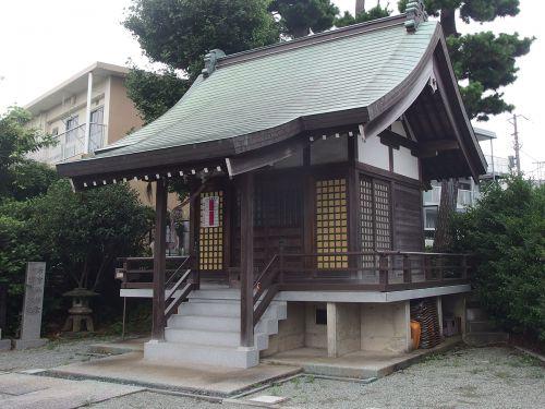 若宮御霊神社(横浜市磯子区洋光台) - 戦国時代に間宮氏によって創建された二社が起源