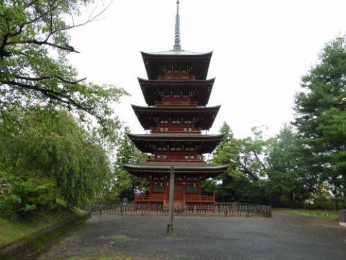 青森・金剛院最勝院の五重塔(重要文化財)